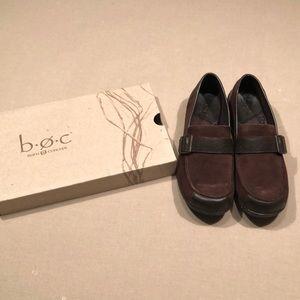 Dark Brown Loafers BOC size 8